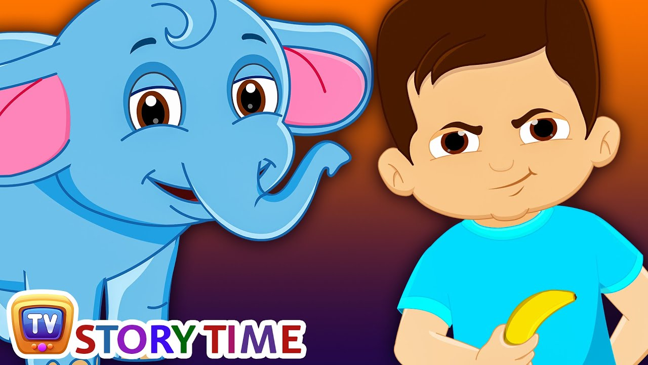 Boy baby elephant bedtime stories for kids in english chuchu tv storytime
