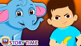 Boy & Baby Elephant - Bedtime Stories for Kids in English | ChuChu TV Storytime thumbnail