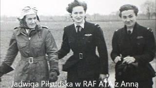 Córka Józefa Piłsudskiego w RAF ATA Jadwiga Piłsudska