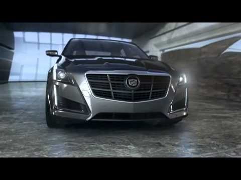 All new Cadillac CTS sedan reveal promo