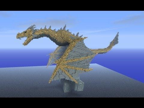 Minecraft top 5 des plus beaux dragons youtube - Creation maison 3d ...