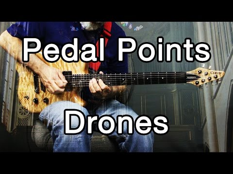 How To Play Ambient Guitar #14 - Drones, Pedal Points and Pedal Tones!