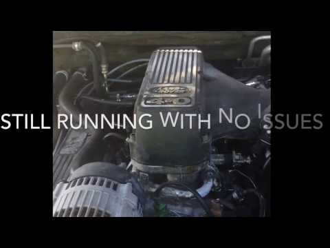 Range Rover motor running with no oil