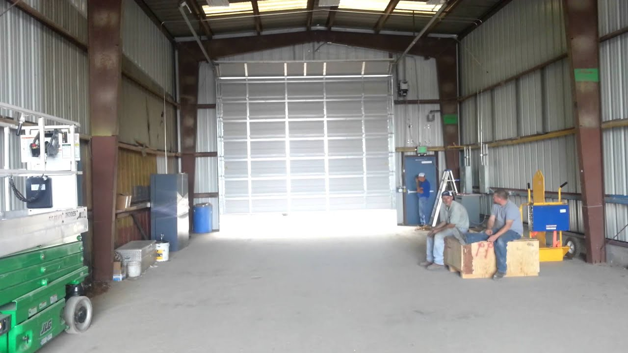 Commercial overhead garage door - New Commercial Overhead Door Opener