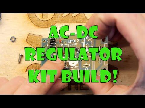 Teardown Lab - LM317 Adjustable AC DC Voltage Regulator Kit