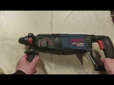 Bosch 11255VSR BullDog Xtreme SDS Rotary Hammer Review