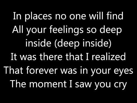 Mandy Moore Cry with lyrics