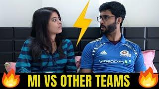 Mumbai Indians vs Other IPL Teams - Infinity War (IPL 2018)