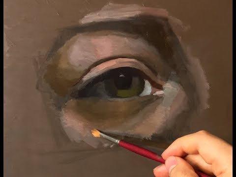 Oil Painting Tutorial | How to Paint an Eye