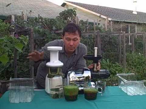 Best Juicer for Leafy Green Vegetables - The Omega 8006 or Omega VRT Juice Off