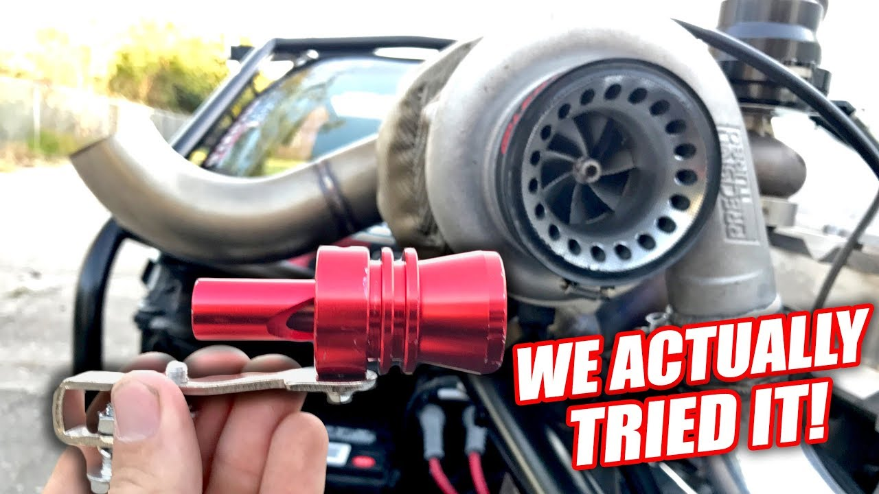 6 TURBO EXHAUST WHISTLES vs. 1000hp TWIN TURBO CORVETTE!