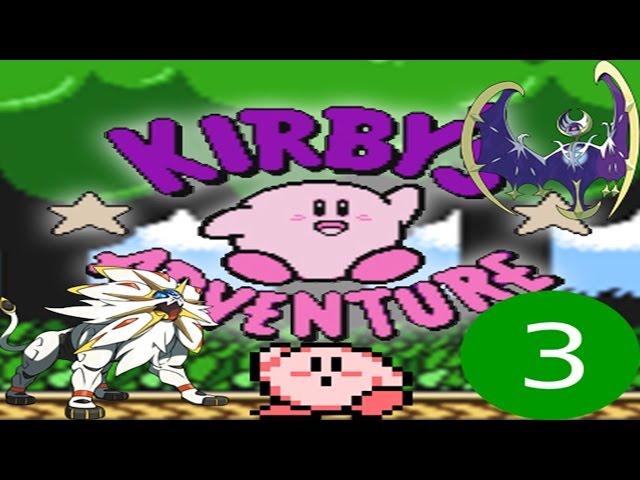 Capitulo 3: Peleando con Solgaleo y Lunala XD //Kirby Adventure // :v
