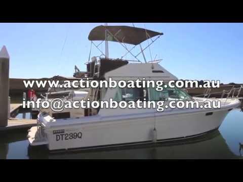 Riviera 34 Flybridge for sale, Action Boating, boat sales, Gold Coast, Queensland, Australia