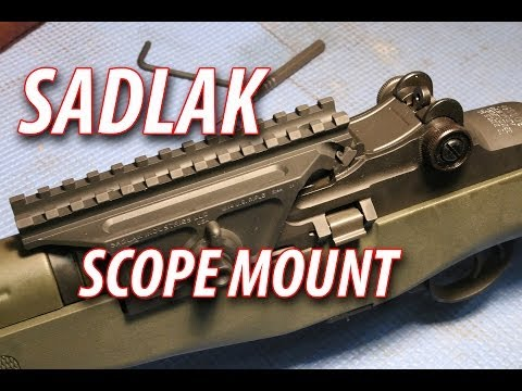 Backyard Battlefield M1a M14 Marksman Rifle Part 2 Adding A
