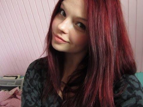 mahonie rood haar