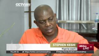 Stephen Keshi speaks on Nigeria's challenges and goals ahead
