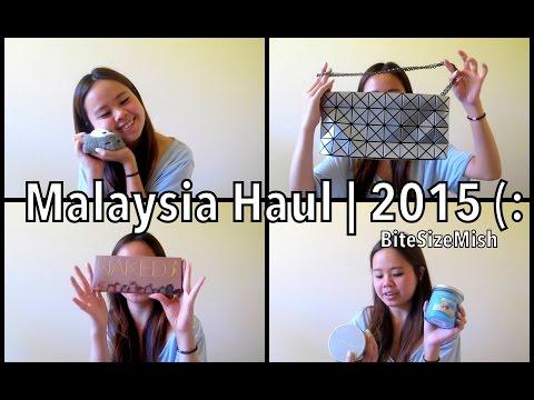 Malaysia Haul | 2015 ❤