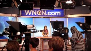 NBC studios tour Boo the weather girl!!