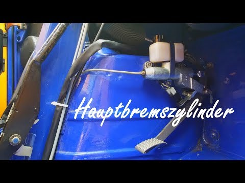 Piaggio Ape 50 Hauptbremszylinder austauschen / Bremse entlüften