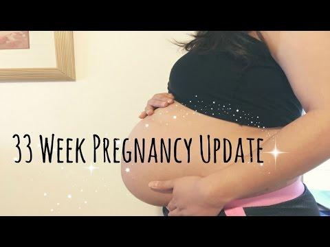 33 Week Pregnancy Update | SIZE OF A MELON?! + Nurse Advice Hotline