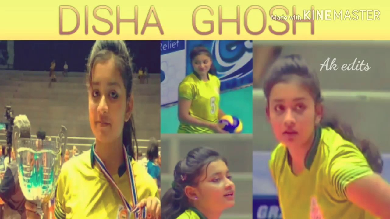Disha Ghosh Young Cute Indian Volley Ball Player Youtube