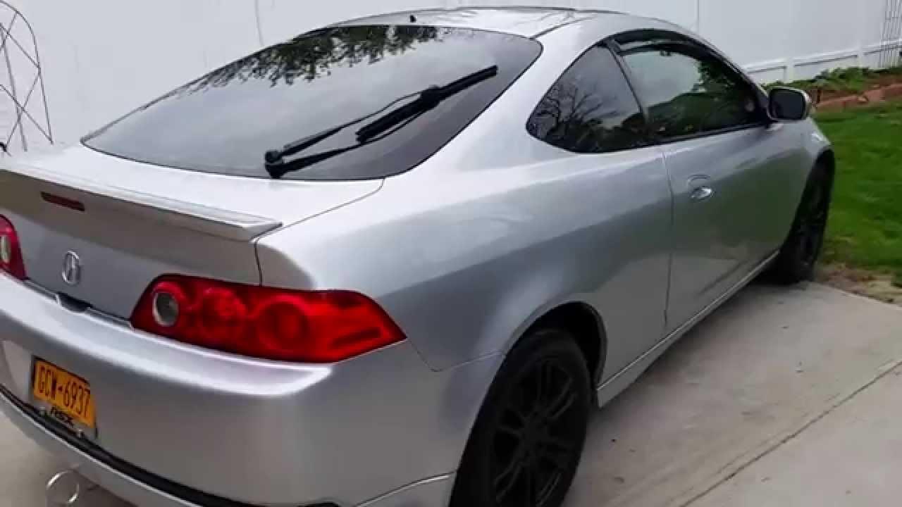 PLASTIDIP BLACK RIMS YouTube - Acura rsx rims