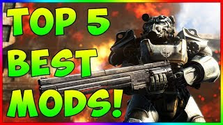 Fallout 4 - TOP 5 Best Mods To Download Right Now! Ep. 16 (PS4, XBOX ONE, PC)