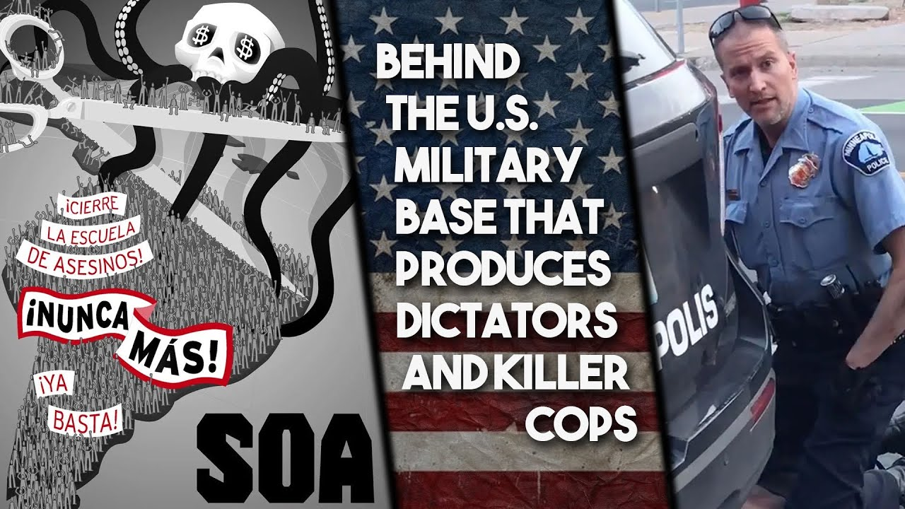 Linking US imperialism and police violence: Killer cop got start at dictator-training military base