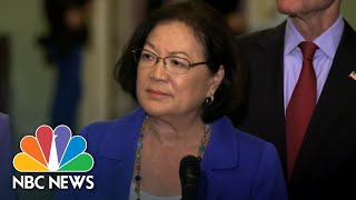 On Kavanaugh Debate, Senator Mazie Hirono Tells Men Of Country To 'Shut Up And Step Up' | NBC News