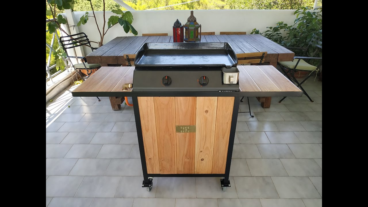 How to Build a Steel Cart for a Flat Top/Plancha Grill