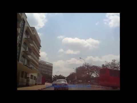 Kampala City drive - Victoria University to Mulago and back