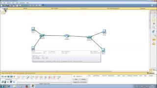 Знакомство с Cisco Packet Tracer. Настройка маршрутизатора