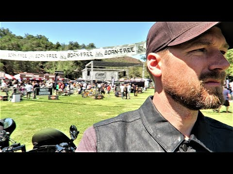My Day at Born Free 10 │ One of the Greatest Custom Motorcycle Shows on Earth - 동영상