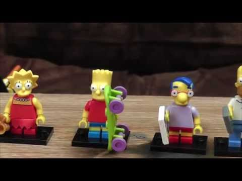 Lego Simpsons Mystery Bags Special | Ashens thumbnail