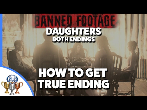 Thumbnail: Resident Evil 7 Daughters Good & Bad Endings - Banned Footage Vol 2 - How to Get True Ending