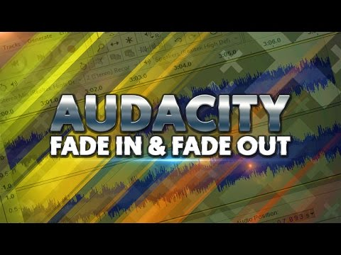 How To: Fade In and Fade Out in Audacity