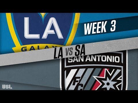 LA Galaxy II vs San Antonio FC: March 31, 2018