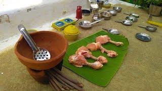 MINI LOLIPOP  Tiny Chicken Lolipop Cooking  Miniature Cooking In Kids Kitchen Set