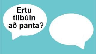 Icelandic Lesson #49: At the Restaurant - Conversation, Pronunciation
