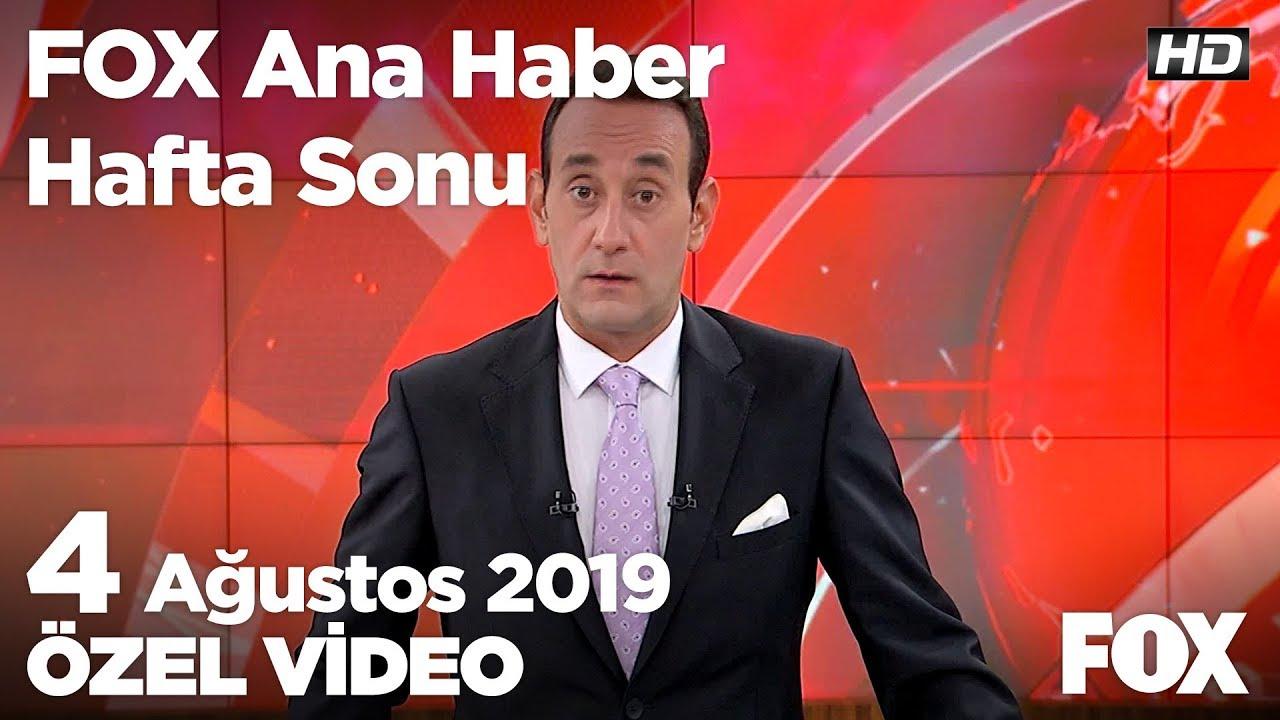 Manisa'da yolcu otobüsü yandı! 4 Ağustos 2019 FOX Ana Haber Hafta Sonu