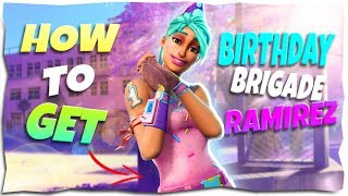 *HOW TO GET* Birthday Brigade Ramirez In Stonewood | Fortnite Save The World
