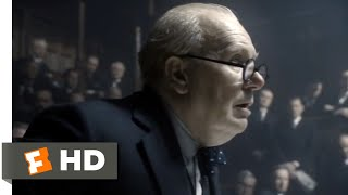 Darkest Hour (2017) - Blood, Toil, Tears and Sweat Scene (1/10) | Movieclips