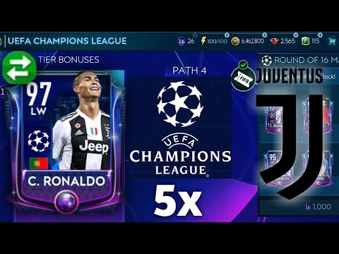 Cristiano Ronaldo hunt in FIFA Mobile 19! Insane champions league pack opening - CR7 crazy skills
