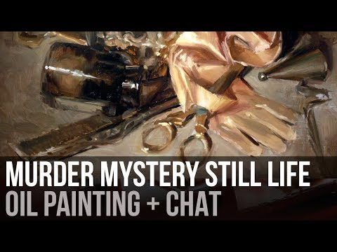 Being a Detective | Oil Painting + Chat