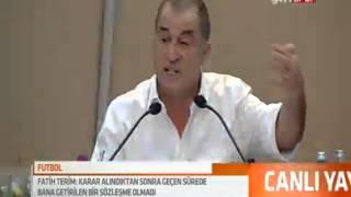 Fatih Terim Basın Toplantısı Tamamı Full (31 Ekim 2013)