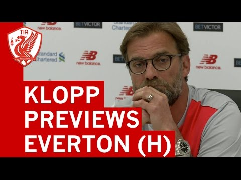 Jurgen Klopp Pre-Match Press Conference - Liverpool vs. Everton