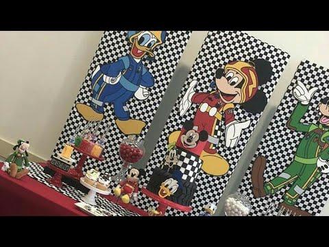 Fiesta De Mickey Aventuras Sobre Ruedas Birthday Party 2018
