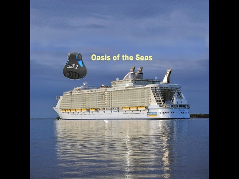 Oasis of the Seas 2017 360 tour