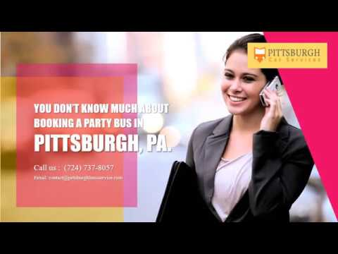 Acting Like A Boss With A Cheap Party Bus In Pittsburgh Youtube