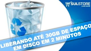 COMO LIBERAR ATÉ 30GB DE ESPAÇO NO PC EXCLUINDO 2 ARQUIVOS